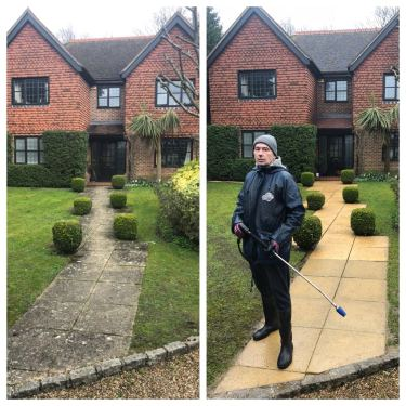 patio cleaning service Richmond on thames Surrey