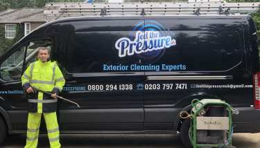 Feel the pressure Uk mobile pressure washing services, Surrey, London, Kent, Berkshire