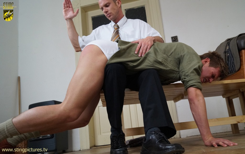 A well rounded spanking 3