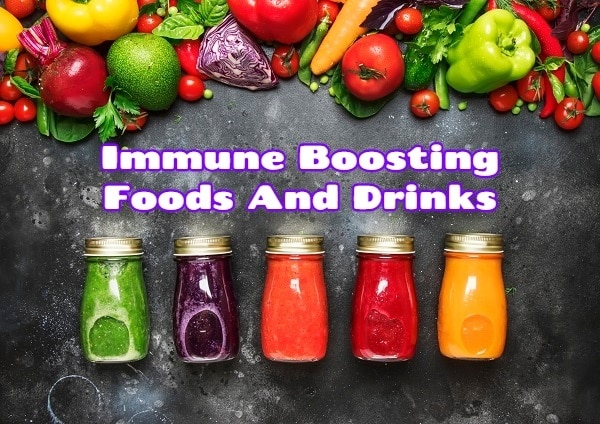 Immune Boosting Foods And Drinks