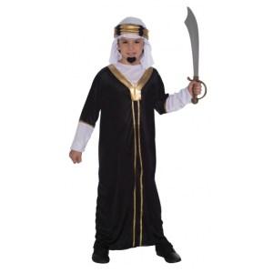 Arabieren kostuum inclusief hoofddoek voor kinderen