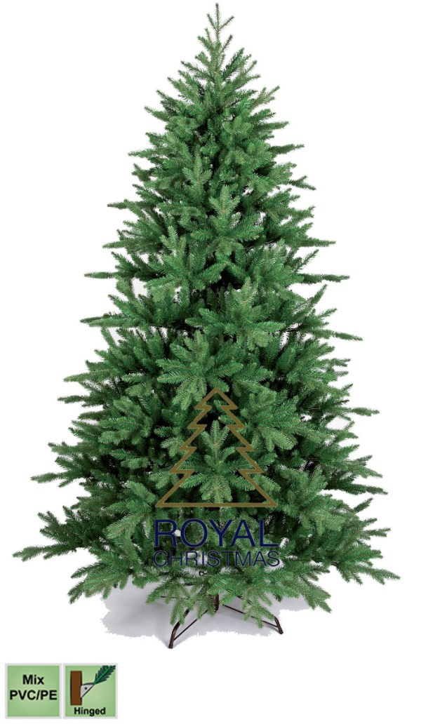 Kunstkerstboom Arkansas PE / PVC Premium 240 cm
