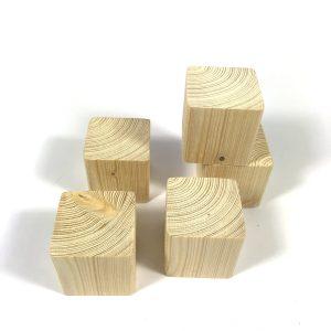 houten kubus blokjes