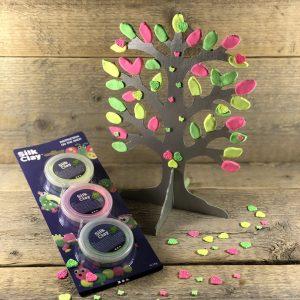 diy knutselpakket neon sieradenboom
