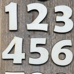 cijfers hout