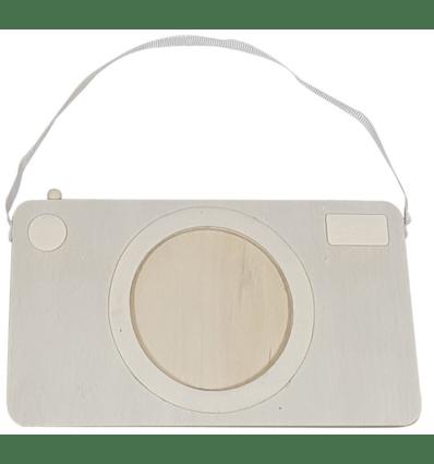 houten camera fotolijstje