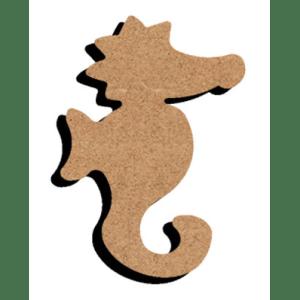 mdf figuur zeepaardje