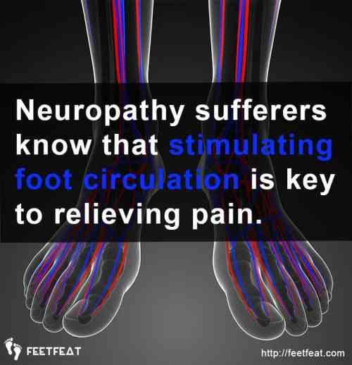 MedMassager Stimulating Foot Circulation