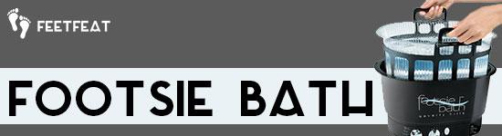 Footsie Bath Banner