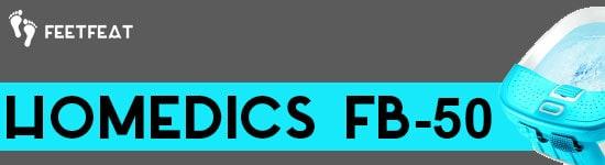 HoMedics FB-50 Banner