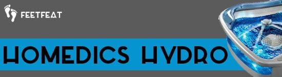 HoMedics Hydro Banner