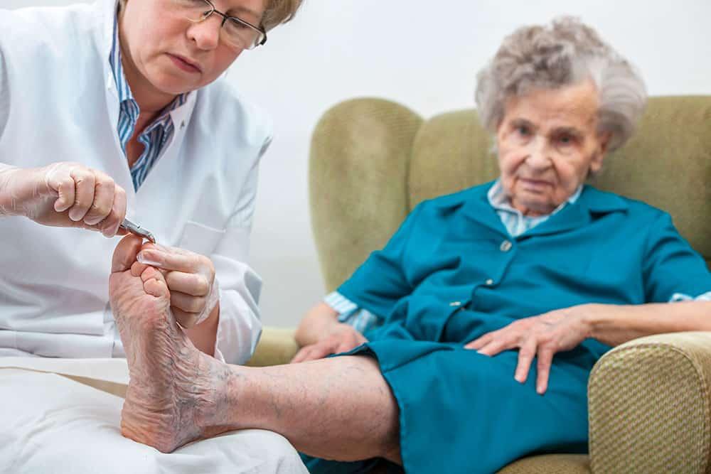 Medical Pedicure Podiatrist