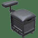 Dani Meri 2316 Pedicure Stool With Footrest