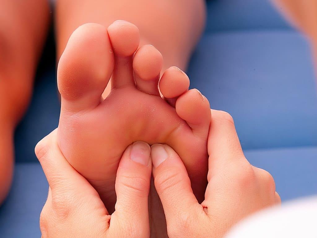 Ball of Foot Massage