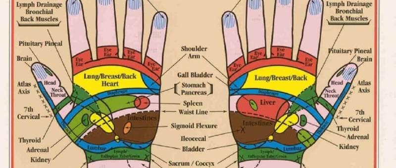hand-reflexology-map
