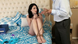 Alex Harper Tied For The Feet And Fucked