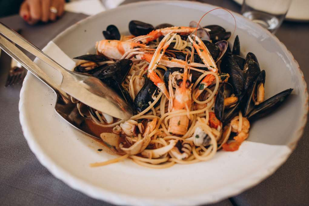 where to eat seafood in Monopoli restaurant