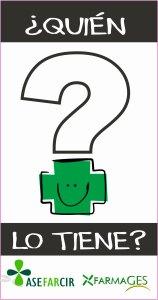 '¿Quién lo tiene?', una app de ASEFARCIR ayuda al paciente a encontrar su medicación