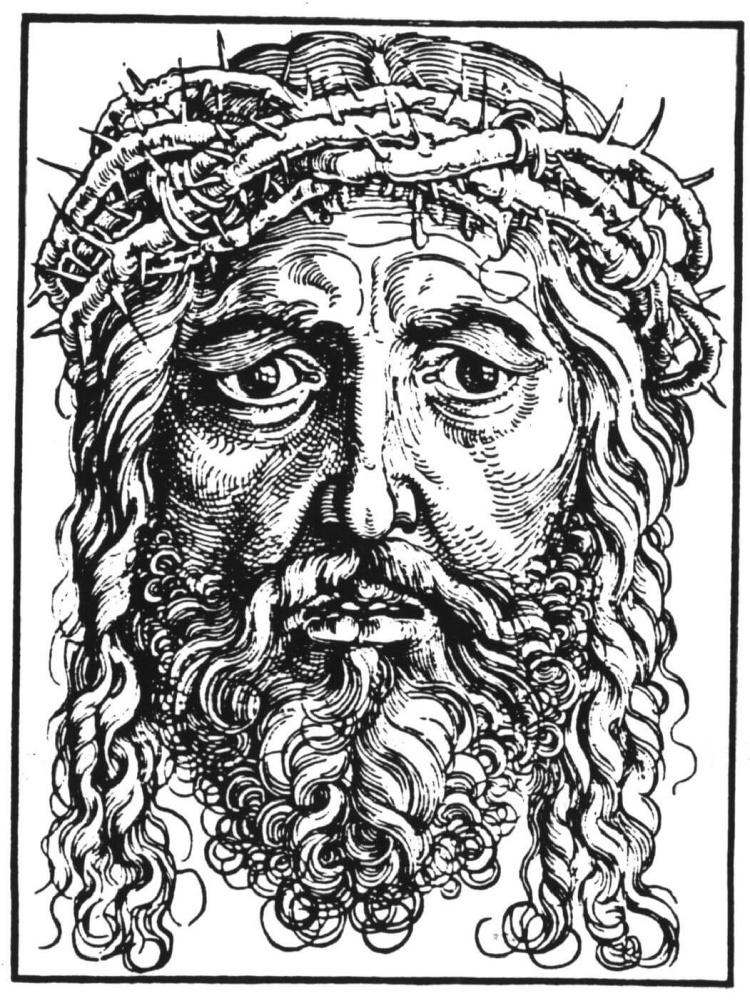 Jesus mit Dornenkrone - Symbolbild für die Passionszeit
