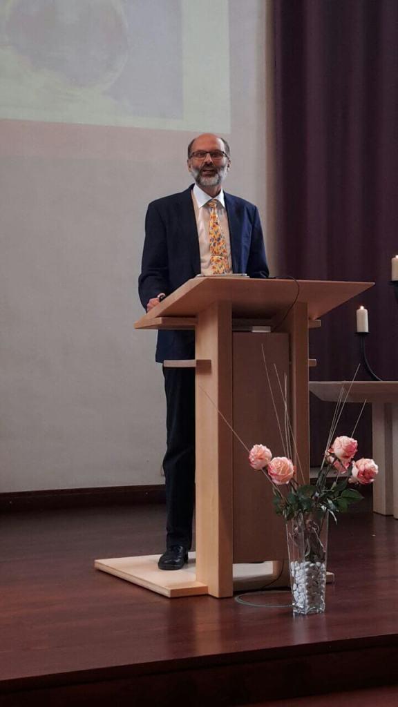 """Albrecht Hesmert predigt zum Thema """"Eitelkeit"""""""