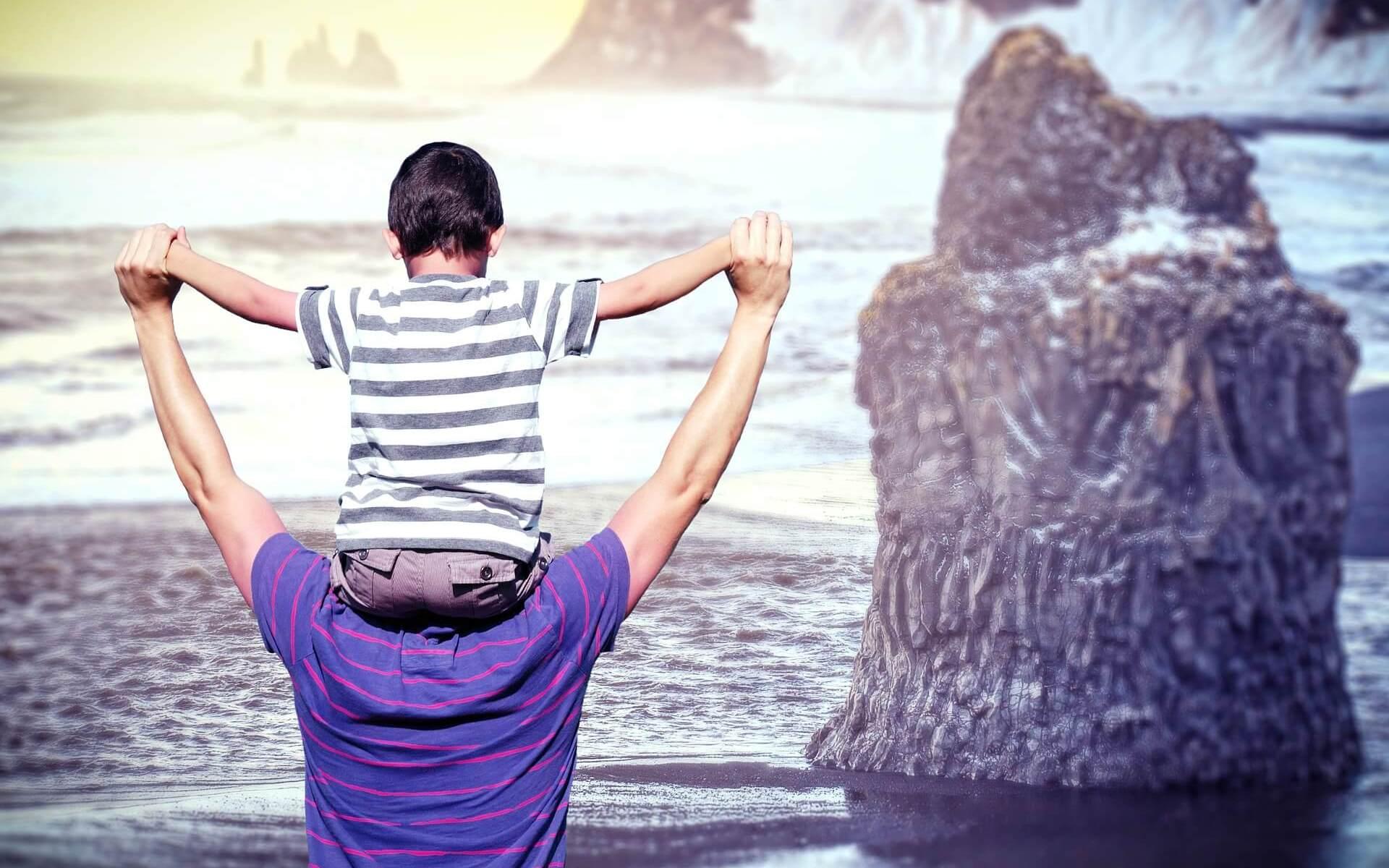 Beziehung zwischen Vater und Sohn