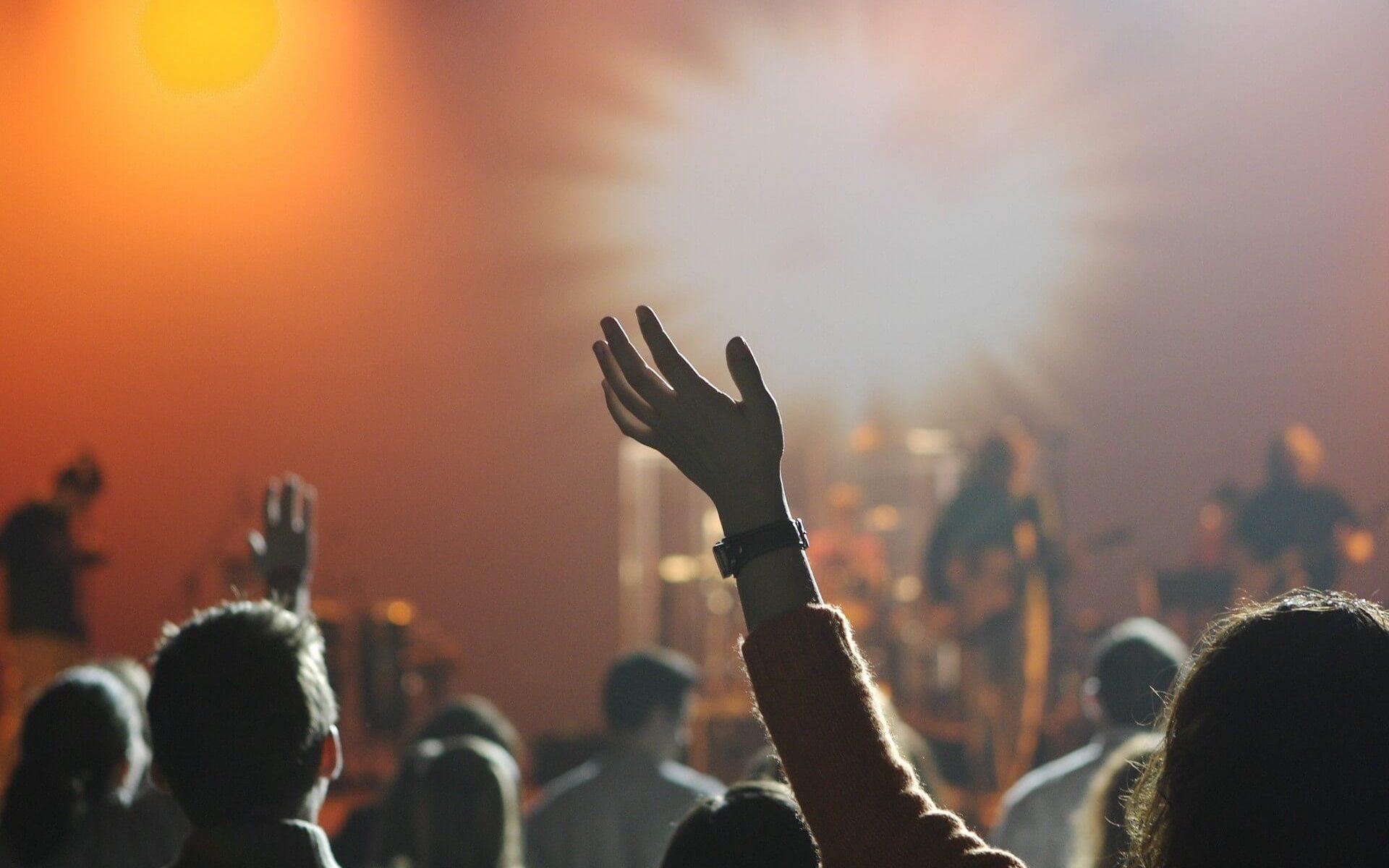 Bild eines Publikums