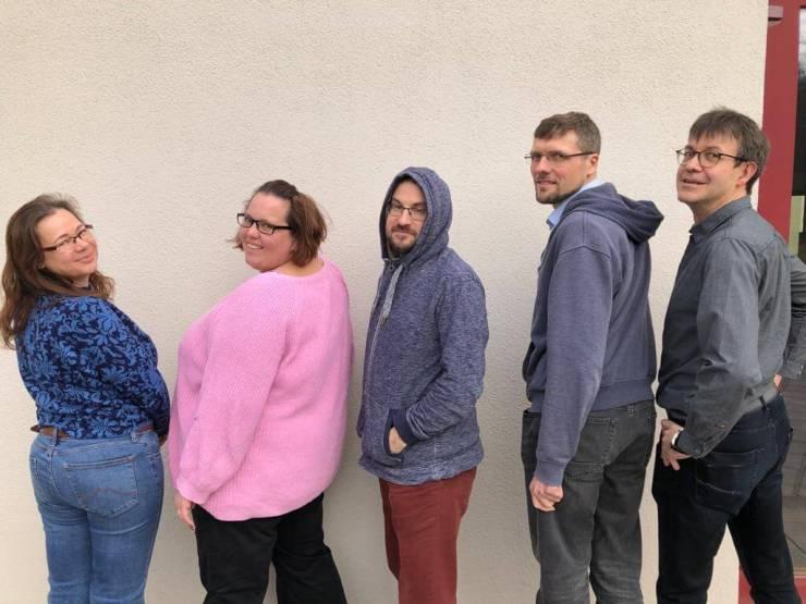 Die Mitarbeiter des Teens und Jugend-Kreises.