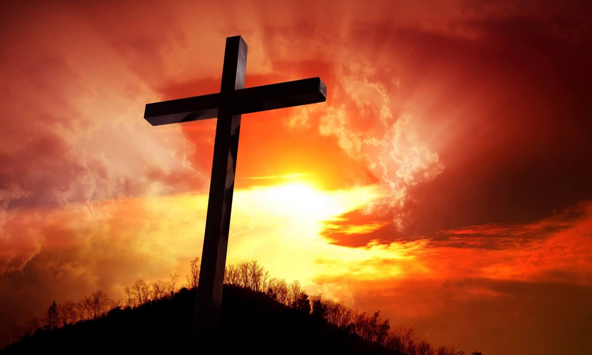 Kreuz, Symbol für Ostern
