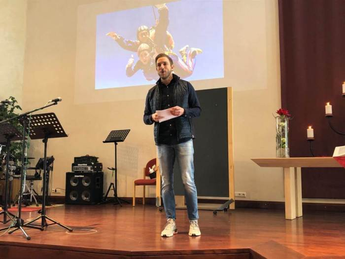 Dennis Penn, Mitglied der CityChurch Bogenhausen (München)