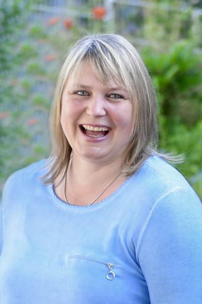Pfarrsekretärin Cornelia Lulay