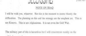 Blair Bush'a mektupla aşkını itiraf ediyor