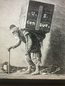 ABD Başkanı'nın gönderdiği nüfus sayımı kitapları Saray'a taşınıyor