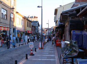 Şile sokakları