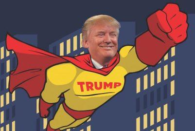Trump: Süpermen