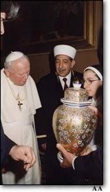 DİB Mehmet Nuri Yılmaz.. Vatikan'da.. (Haziran 2000)