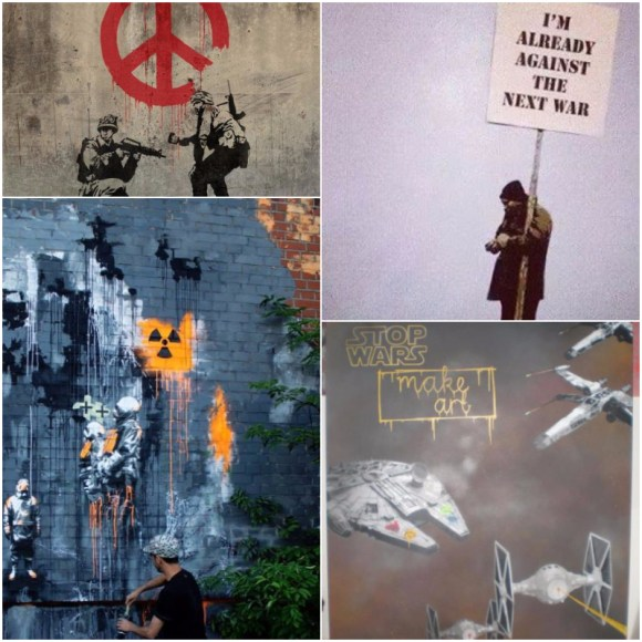 #picturethis: anti-war graffiti