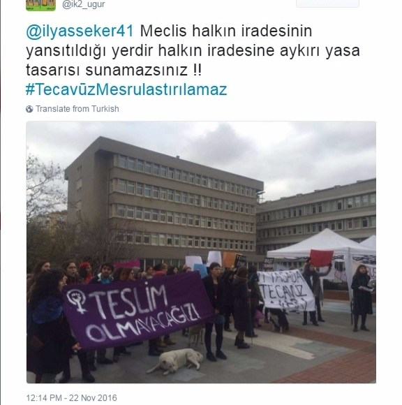 #vivelafeminism: Turkish women rising