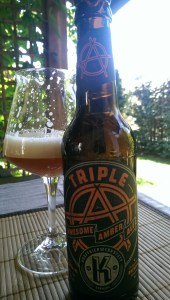 Triple Amber Ale - Kraftbierwerkstatt
