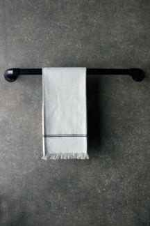Industrial towel rail, medium £26.00 / large £30.00 from Rockett St George