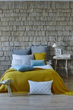 Image courtesy of ALSO Home Ltd featuring Alyssa bed linen, and Olivia grey 65x65 pillow
