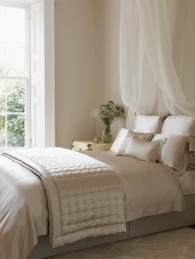 Image courtesy of Houseology featuring the Gingerlily silk bed linen in Nude