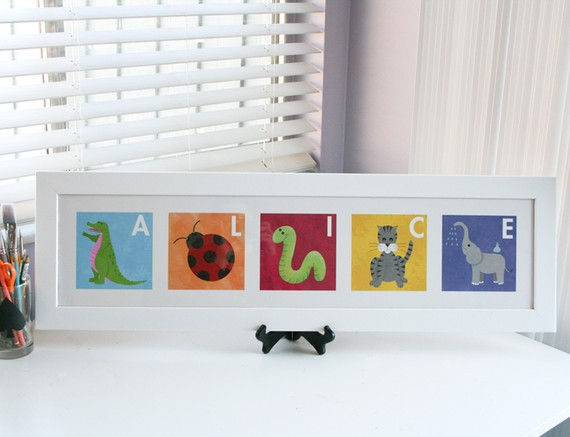 Personalized Art for Children