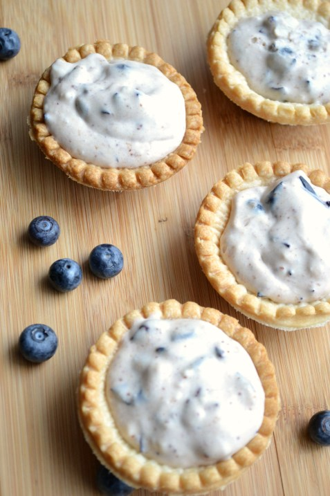 Blueberry Dream Tarts - So easy to make and oh so dreamy good!