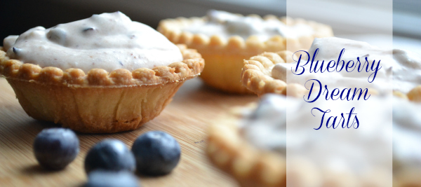 Blueberry Dream Tarts post