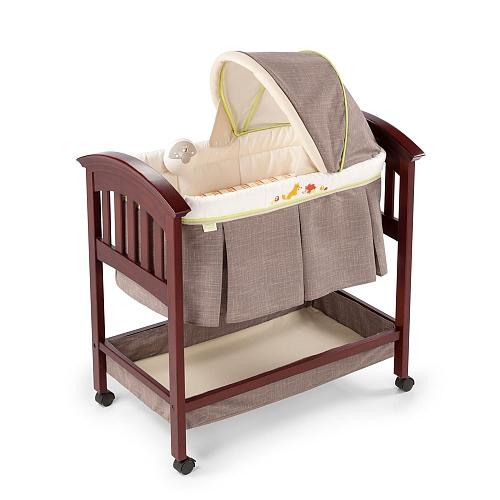 summer infant bassinet fox & friends