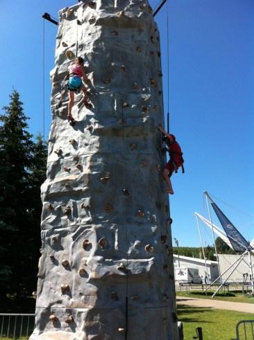 COP Rock Climbing Wall