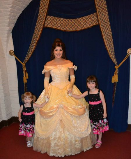 belle at walt disney world