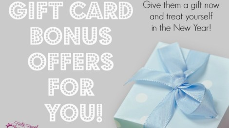 gift cards with a bonus