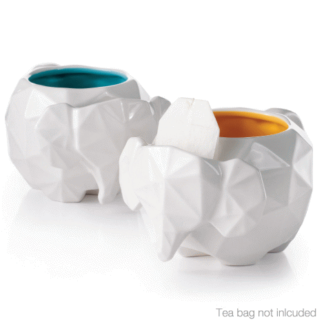 elephant tea mugs