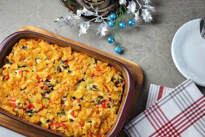 Hearty Holiday Breakfast Casserole